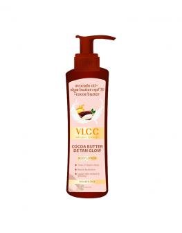 VLCC Cocoa Butter De Tan Glow Body Lotion SPF 30 - 400ml