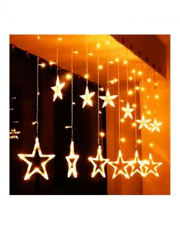 Star Light Curtain Design - 1Set