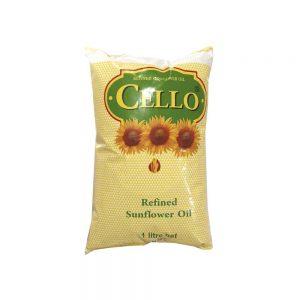 cello sunflower oil 1ltr