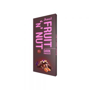 amul f&n dark chocolate 150g
