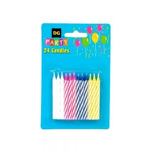 party candle 24 pc