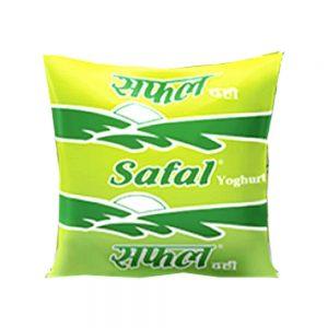 safal dahi poly 500ml
