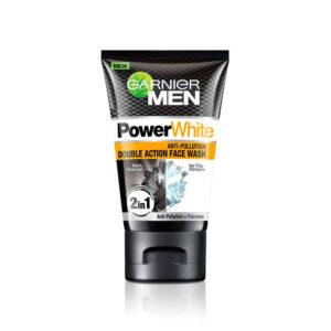Garnier Men Power White Double Action Face Wash – 100g