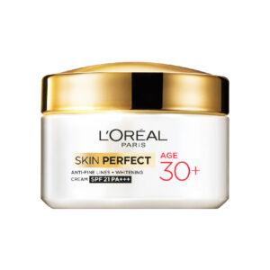 L'oreal Paris Skin Perfect Anti-Fine Lines + Whitening Day Cream Age 30+ – 50g