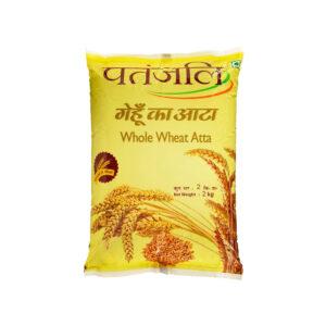 Patanjali Whole Wheat Atta - 2kg