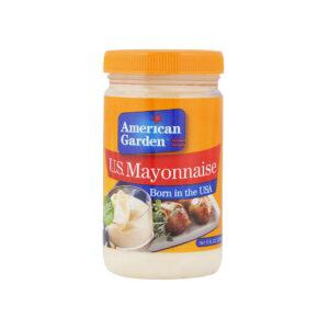 american garden us mayonnaise 237ml