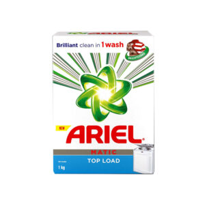 ariel matic top load 1kg