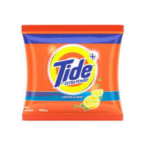 tide plus lemon and mint 500g
