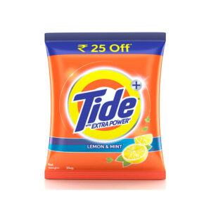 tide+ lemon & mint with extra power 2kg