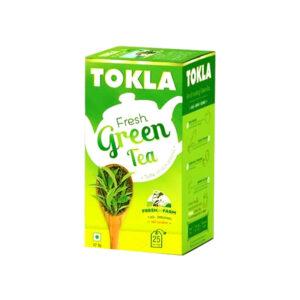 tokla fresh green tea 25bags