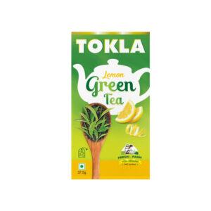 tokla green tea lemon 25bags