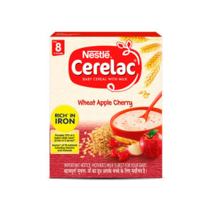 Nestle Cerelac Wheat Apple Cherry From 8 to 12 months - 300g