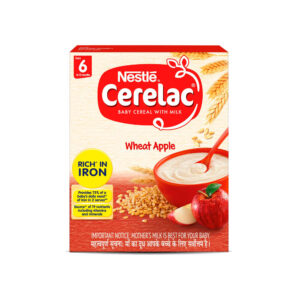 Nestle Cerelac Wheat Apple From 6 to 12 months - 300g