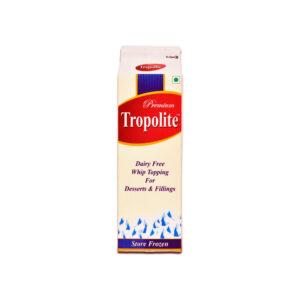 tropolite whipped cream 1ltr