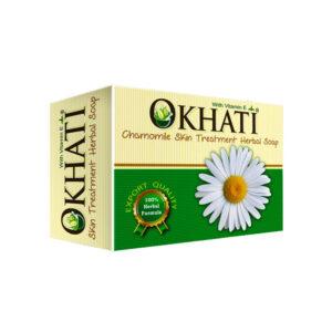 okhati-chamomile-skin-treatment-herbal-soap-100g